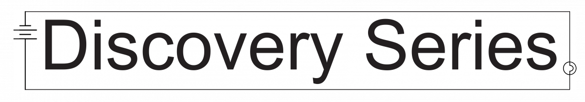 Discovery Series text logo