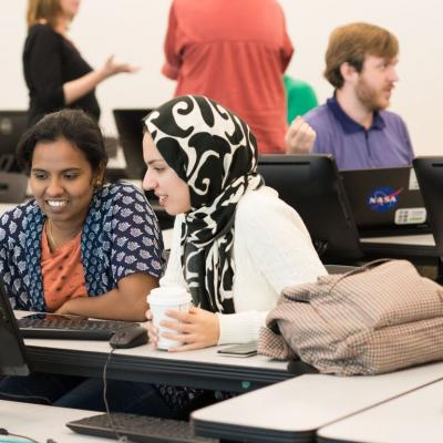 Graduate Students Exploring the World of Computational Linguistics