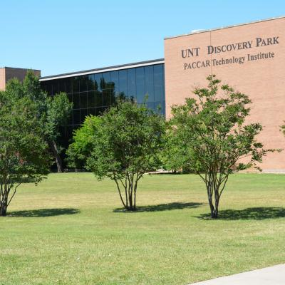 UNT Discovery Park - Home to the College of Information