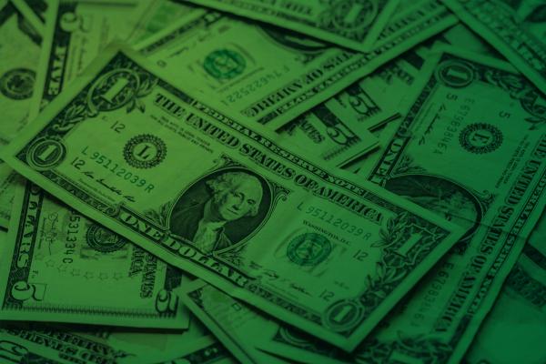 Dollar Bills for Financial Aid