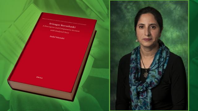 Srinagar Burushaski Book by Dr. Sadaf Munshi
